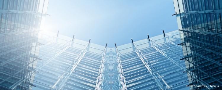 Glas Fassade Bürogebäude